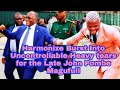 Download Lagu Harmonize  Musian burst in heavy tears after performing a song paying tribute to John Magufuli Mp3 Free