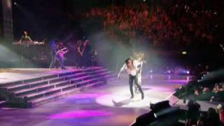 Miley & Trace Cyrus -  Hovering (Live At The 02 Wonder World Tour)