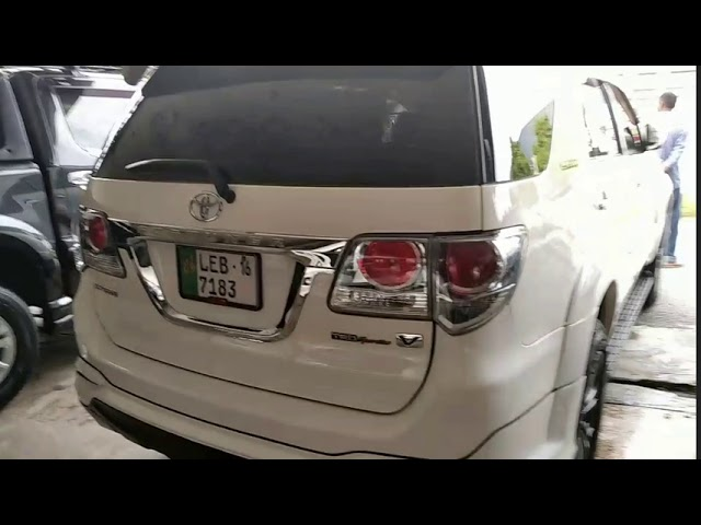 Toyota Fortuner TRD Sportivo 2016 for Sale in Lahore
