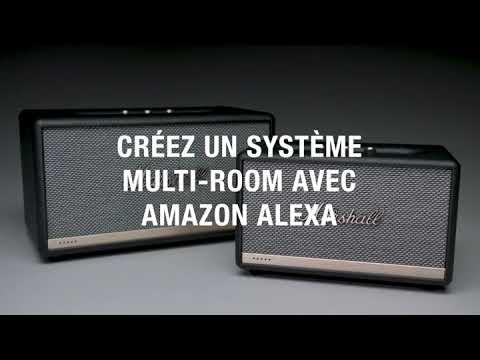 Marshall Stanmore II avec Amazon Alexa   Marshall stanmore II bluetooth speaker