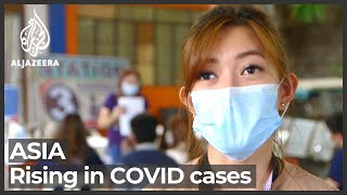 Health centres across Asia struggle with COVID-19 cases