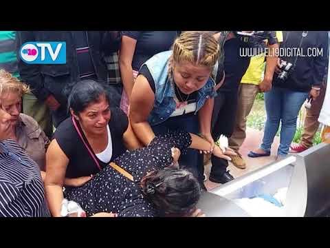 Honras fúnebres en Diriamba a Comisionado Luis Busto, caído en cumplimiento del deber en Morrito.