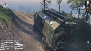 Spintires Volcano Map Episode 1 - Multiplayer With ColonelWill
