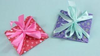 Как сделать подарочный конверт своими руками