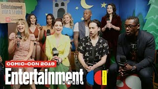 'Supergirl' Stars Melissa Benoist, Chyler Leigh & Cast LIVE | SDCC 2019 | Entertainment Weekly