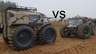 SHERP Vs ATVs | EXTREME TRIAL