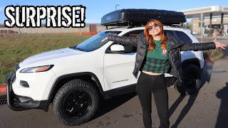 Surprising Chelsea with her Dream Car For Christmas 🎄