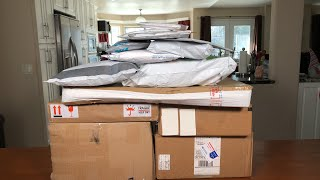 WE GOT ALL THESE MYSTERY PACKAGES IN THE MAIL! What did we get?