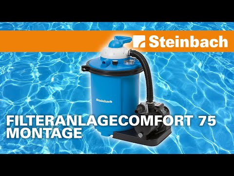 Speed Clean Comfort 75 Homokszűrős vízforgató videó