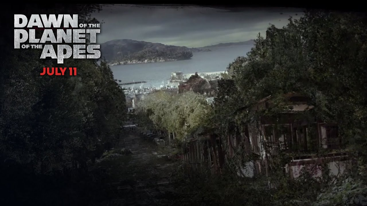 Dawn of the Planet of the Apes - San Francisco Deterioration