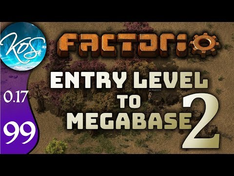 Factorio 0.17 Ep 99: IMPROVING PRODUCTION - Entry Level to Megabase 2 - Tutorial Let's Play Gameplay