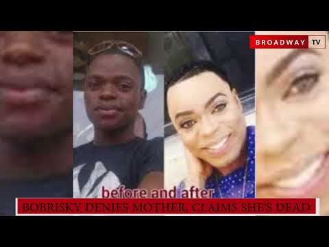 Bobrisky Claims His Mum is Dead but His Mum Denies Being Dead