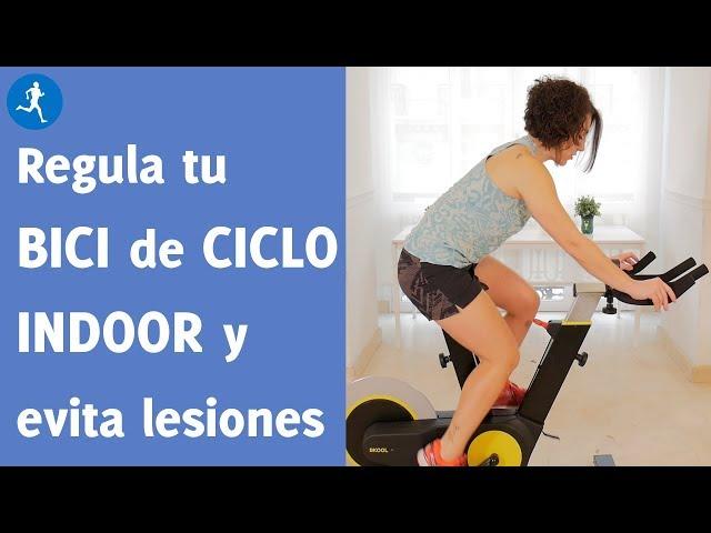 Cómo regular correctamente tu bici de ciclo indoor