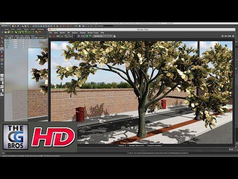 "CGI 3D Tutorial : ""Maya Outdoor Lighting"" – by Mohammad Sadeh"