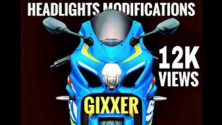 GIXXER Headlight Mods | Part 02 | 2018 | Gixxer Club