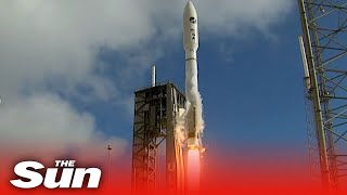 Space Force Launches X 37b Robotic Space Plane Using Atlas V Rocket On Secret Military Mission