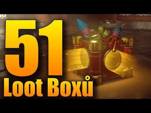 DVĚ LEGENDÁRKY NAJEDOU!! - Overwatch 51 LOOT BOX Year of the Pig Opening!