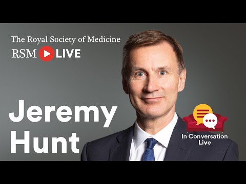 RSM In Conversation Live with Jeremy Hunt
