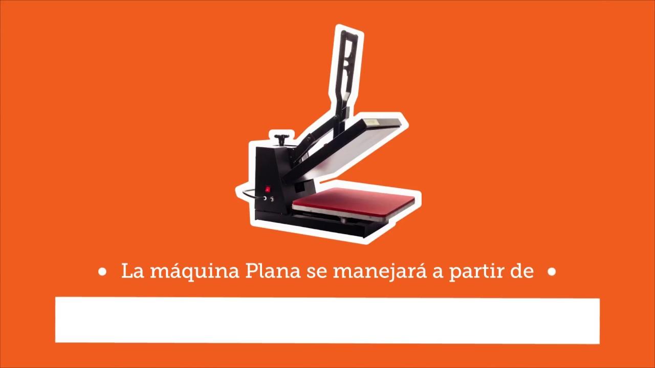 Máquina Plana