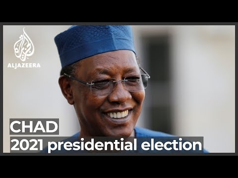 Chad's Deby seeks sixth term as calls for change mount
