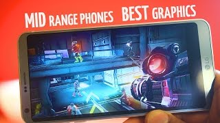 Top 10 High Graphic games for Mid Range Android Phone 2017