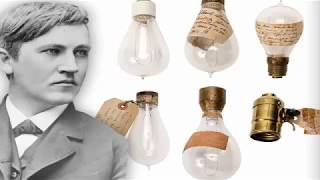 Thomas Edison is the inventor of the light bulb