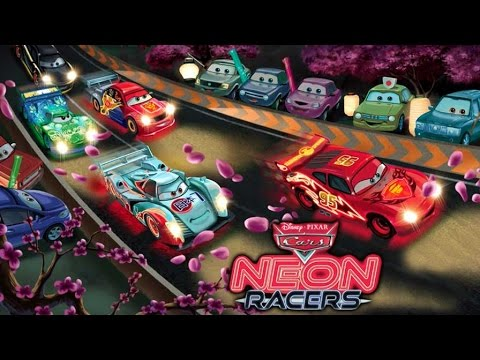 Disney Cars Neon Racers (Storybook For Kids)