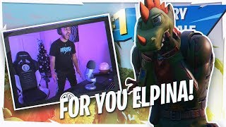 16 KILL CLUTCH FOR  MY SON! (HILARIOUS GAME w/ ELPINA)