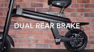 ONEBOT e bike T8 with dual battery & rear brake & absorber