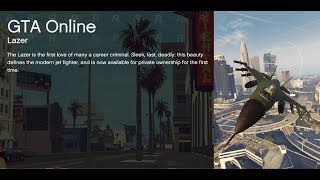 GTA 5 Online PC - CHROME LAZER 6.500.000$