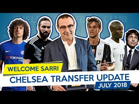 WELCOME SARRI X JORGINHO - CHELSEA TRANSFER UPDATE - JULY 2018 (Part 3)