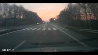 preview picture of video 'Farciarz - Mikołów DK44-Krakowska 15.12.2014'
