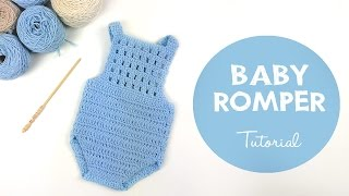 How To Crochet Baby Romper | Croby Patterns