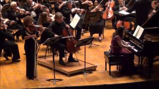 Beethoven - Piano, Violin and Cello Concerto, op. 56, pt. 1