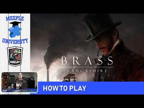Brass: Lancashire Board Game – How to Play & Setup