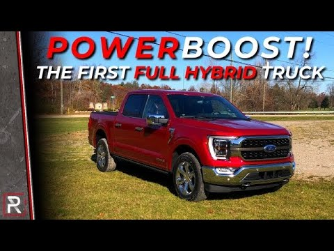 The 2021 Ford F-150 PowerBoost is the Electrified Rebirth of America's Best-Selling Truck