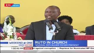 DP Ruto attends church service at PCEA, Nairobi West