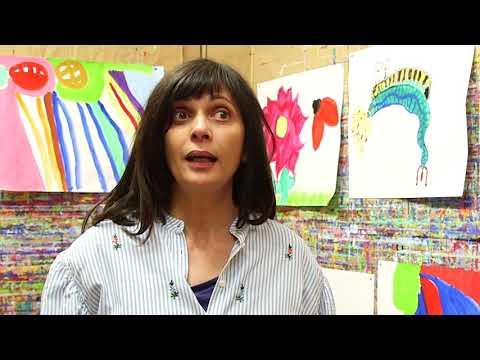 Sandrine, praticienne d'expression spontanée