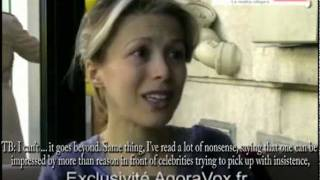 Tristane Banon describes Dominique Strauss-Kahn...