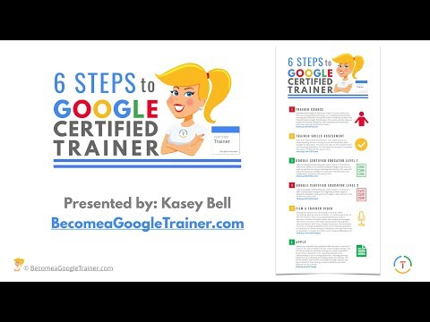 How to Become a Google Certified Trainer (6 Steps) - YouTube