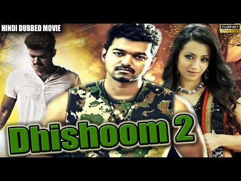 New Action Hindi Dubbed Movie - Dhishoom 2 - Vijay, Trisha Krishnan & Mallika - Full HD Movie