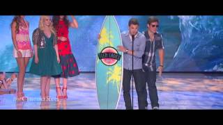 Logan Lerman - Teen Choice Awards 2013 [HD]