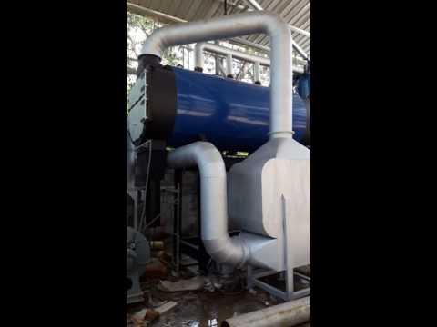 Lò hơi đốt vải vụn 3 tấn hơi/h