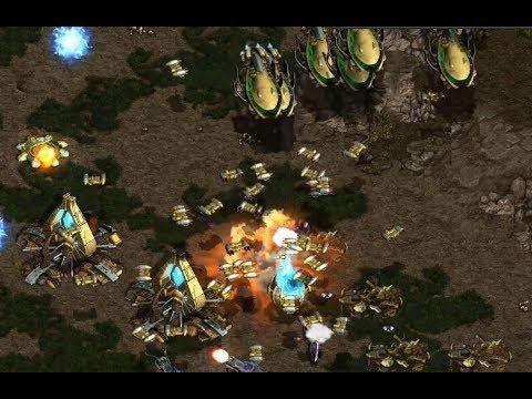 Bishop (T) v Bisu (P) on Fighting Spirit - StarCraft  - Brood War REMASTERED 2019