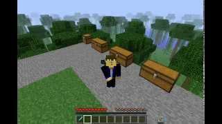 Minecraft  Hexxit Gear Mod Showcase