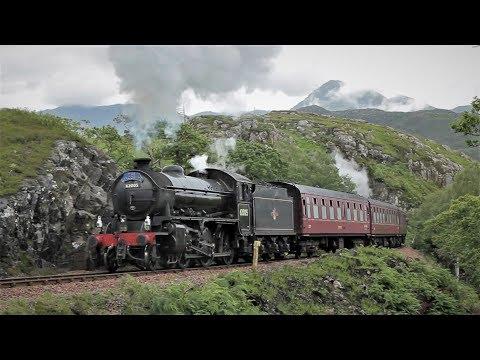 A Stunning Steam Train Journey Through the Scottish Highlands