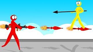 MOST INSANE Weapon In SUPER SMASH! (Stick Fight)