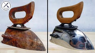 Antique Ox-Tongue Iron - Restoration