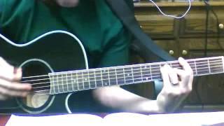 I Stand Amazed, How Marvelous - Lead guitar idea