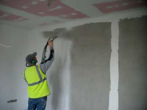 Internal specialist spray plaster